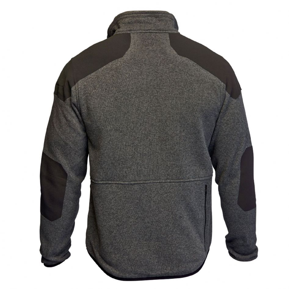 Sweater With Patches On Elbows